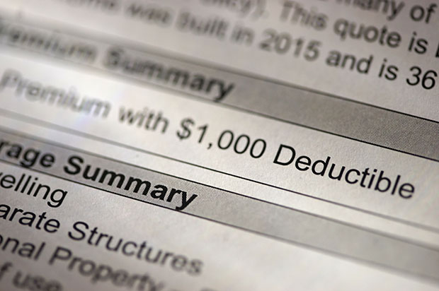 understanding insurance deductibles